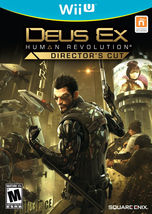Deus Ex Human Revolution Director's Cut Nintendo Wii U [New Video Game] - $19.99