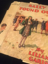 """1930 """"Sally Found Out"""" by Lilian Garis frame-ready dust jacket (no book) image 6"""