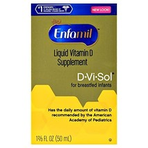 Enfamil D-Vi-Sol Vitamin D Supplement Drops 50 mL (Pack of 8) - $76.43