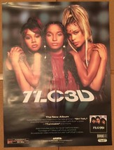 TLC 3D Ultra Rare Promo Arista Records Poster Size 18x24 - $38.48