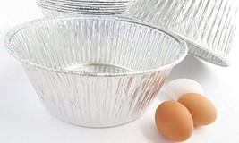 "Disposable Aluminum Extra Deep 10"" Round All Purpose Baking Pan #1600 10 - $31.62"