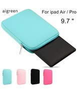 AIGREEN® Case Hot Soft Sleeve Case Ipad Air 1/2 Bag For Ipad Pro Newest ... - $13.70