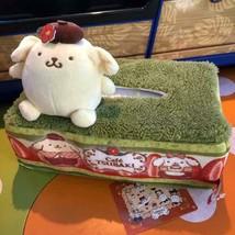 Pom Pom Purin Cafe Tsubaki Limited Tissue Case Sanrio  - $60.28