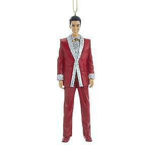 Primary image for Elvis® In Red Lamé Suit Ornament w