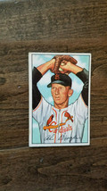 1952 BOWMAN BASEBALL CARD AL BRAZLE ST. LOUIS CARDINALS PITCHER # 134 - $7.99