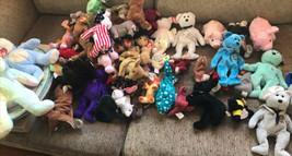 Ty Beanie Babies Lot All Tags! Random Selection Of 6 Bears Animals RAC57 - $19.34