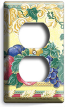 Fresh Fruits Vegetables Victorian Style Light Dimmer Cable Covers Kitchen Decor - $9.89