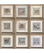 BUNDLE PACK 2014 Frosty Forest cross stitch chart Country Cottage Needle... - $45.90