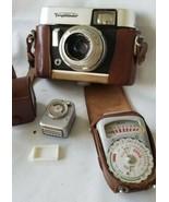Voigtlander Vito C Lanthar 2.8/50 35mm Camera, 2 Light Meter BEWI UNITTI... - $28.71