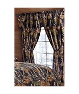 The Woods Camo Black 5 Piece Licensed Curtain Set - $28.50