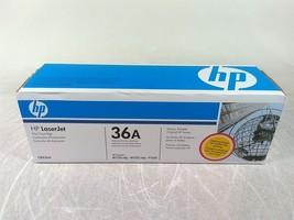 New HP LaserJet 36A CB436A Black Toner Print Cartridge - $36.00