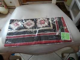 Vera Bradley Classic Black silk scarf  - $23.50