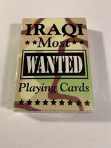 Hoyle Iraqi Most Wanted Playing Cards Made In USA Reproduction Deck - $9.45