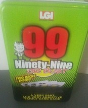 LGI Ninety-Nine Or Bust Fast Action Card Game New Sealed 2 Deck Chips - $15.79