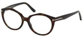 Tom Ford Sonnenbrille TF5416 052 52mm Havanna Rahmen Durchsichtige Linse - $138.59