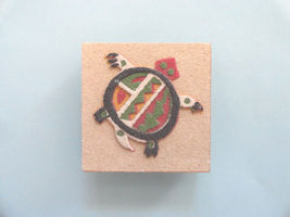 "Turtle Southwest Sand Art Magnet Square <2"" - $7.55"