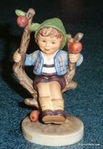 """Apple Tree Boy"" Goebel Hummel Figurine #142 3/0 TMK6 - CUTE COLLECTIBLE! - $72.74"
