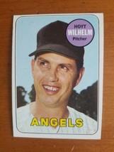 1969 TOPPS ANGELS HOYT WILHELM # 565 HOF - $4.95