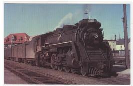 CNR Canadian National Railway  Railroad Train Portland Maine postcard - $5.45