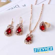 Elegant Luxury Water Drop Earrings With Rhinestones For Women In Fashion... - $24.99