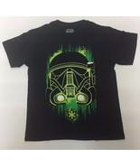 Star Wars Big Boys' Green Shadow Tee T-shirt, Black - $8.86+