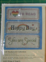"""Bookmark Collection Creative Circle #2430 Cross Stitch Kit Unopened 2.7""""... - $8.26"""