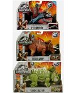 Jurassic World Sinoceratops Pteranodon & Triceratops Fallen Kingdom Dinosaur  - $59.91