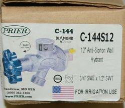 Prier Diamond Series Twelve Inch Anti Siphon Wall Hydrant C 144S12 image 6