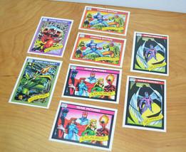 Vintage 1990 Marvel Comics Trading Cards Lot Of 8 Impel Juggernaut Famous Battle - $12.41