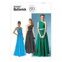 Butterick Patterns B5987 Misses' Dress Sewing Template, Size B5 - $14.70