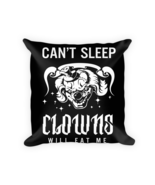 Clown Lovers gifts - Square Pillow Case w/ stuffing - $23.00
