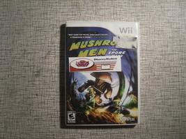 Mushroom Men The Spore Wars Nintendo Wii 2008 Action Adventure Game - $16.43
