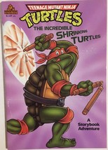 TEENAGE MUTANT NINJA TURTLES Incredible Shrinking... 1990 Random House c... - $9.89