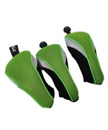 Lot of 3 Andux Golf Club Head Cover Set with No. 3 and Two are interchan... - $29.69
