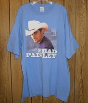 Brad Paisley Concert Tour T Shirt Time Well Wasted - $39.99