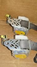 05-11 Toyota Tacoma Front Seat Belt Belts Set L&R GRAY image 2