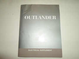 2012 Mitsubishi Outlander Electrical Supplement Manual Factory Feo Book 12 Worn - $63.35