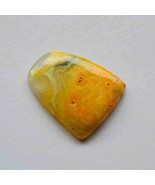 20 Carat Natural Bumble Bee Jasper Gemstone Loose Cabochon Fancy Shape R... - $4.15