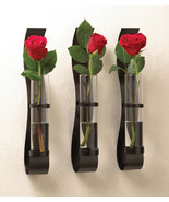 BILLOW WALL VASE Trio Modern Flower Home Decor Set of 3 - $32.60