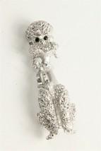 Estate Jewelry Vintage Monet Signed Figural Poodle Dog Brooch - $10.00