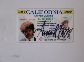 Samuel L Jackson Jules Winnfield Pulp Fiction signed - $99.00