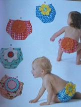 Kwik Sew Sewing Patterns 4052 Baby Infant Diaper Covers Size XS-XL New - $15.65