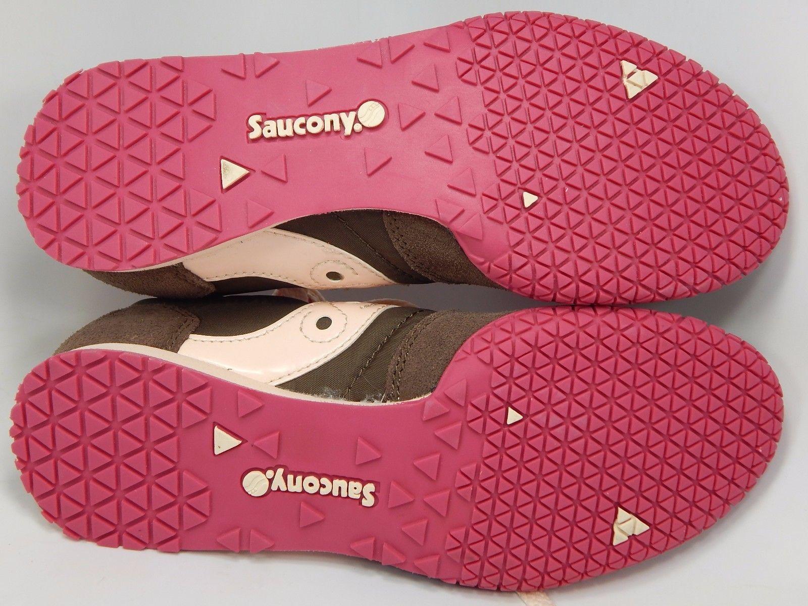 Saucony Original Bullet Women's Running Shoes Size 7 M (B) EU 38 Brown S1943-129