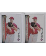 1999 Topps Finest - Peel & Reveal #PR20  Pat Burrell Lot of 2 - $4.00