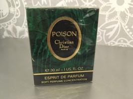 RARE Christian Dior Poison Esprit de Parfum 1oz/ 30 ml sealed begg.90s - $212.85