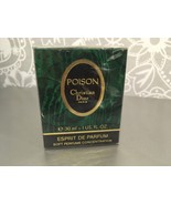 RARE Christian Dior Poison Esprit de Parfum 1oz/ 30 ml sealed begg.90s - $212.85