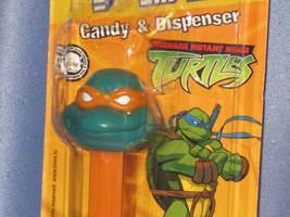 "Teenage Mutant Ninja Turtles ""Michaelangelo"" Candy Dispenser by PEZ. - $8.00"