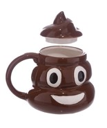 3D Funny Kuso Shit Mug Ceramic Coffee Cup Kawaii Emoji Tea Cup - $34.74