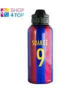 FC BARCELONA LUIS SUAREZ 9 DRINKS WATER BOTTLE FOOTBALL SOCCER OFFICIAL NEW - $14.84