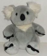 "BUILD A BEAR ORIGINAL GRAY WHITE KUDDLY KOALA 12"" STUFFED ANIMAL PLUSH D... - $3.99"